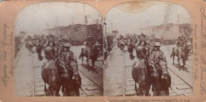SV: TAMPA , Florida , 1898 ; Roosevelt's Rough Riders arrival , Railroad Tr...