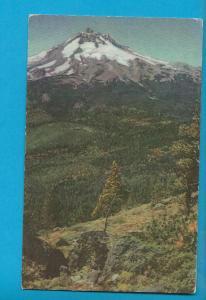 Postcard Mt Jefferson Cascade Range Skyline Trail Oregon # 472