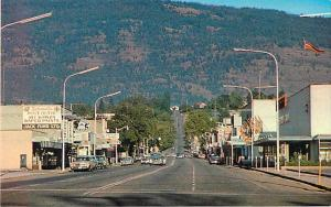 Main Street in Vernon British Columbia BC Canada Chrome