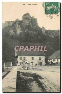 Old Postcard The Fort Joux