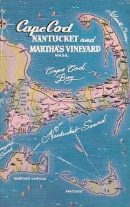 Massachusetts Cape Cod Nantucket And Martha's Vineyard