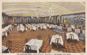 OKLAHOMA CITY , OK , 1930-40s ; Skirvin Hotel , The Venetian Room