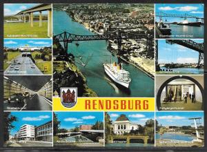 Germany, Rendsburg (Sch.-Hol.) multiview, writing on back