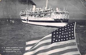 Military Battleship Postcard, Old Vintage Antique Military Ship Post Card US ...