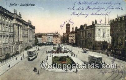 Schlobplatz Berlin Germany 1929