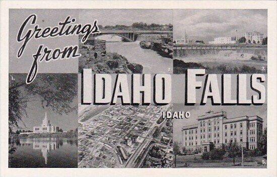 Greetings From Idaho Falls Idaho