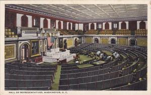 Hall Of Representatives Washingon D C