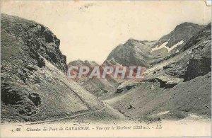 Old Postcard Path Port Gavarnie View Marbore