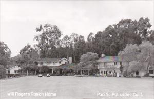 California Pacific Palisades Will Rogers Ranch Home Real Photo