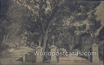 Gibralter Alameda, Upper Gardens Alameda, Upper Gardens