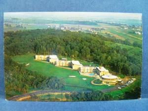 Postcard PA Ephrata Foodergong Lodge Aerial View