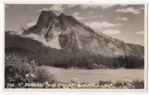 Mt Burgess & Chalet, Emerald Lake