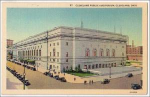 Cleveland Auditorium OH