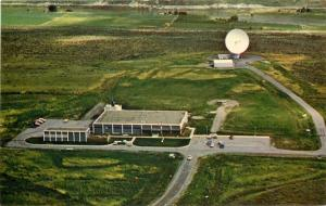 Brewster Flat Washington~Satellite COMSAT Building for US & Pacific Points~1960s