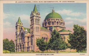 Saint Louis Cathedral Lindell Boulevard And Newstead Avenue Saint Louis Misso...