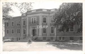 C72/ Reedsburg Wisconsin Wi Postcard Real Photo RPPC c40s Municipal Hospital