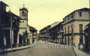 Street Colon Panama Unused