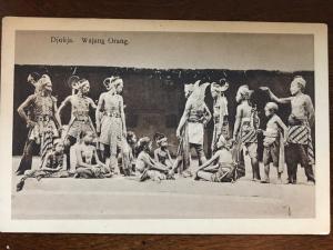 Djoka. Wajan Orang Wayang Wong, Javanese, Indonesia d9