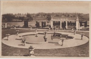 KETTERING Northamptonshire UK - BAND STAND in WICKSTEED PARK  / 1930s / GONE