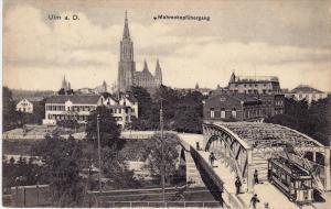 ULM a. D., Mohrenkopfubergang, Baden-Wurttemberg, Germany, PU-1907
