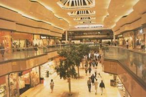 Peterborough Queensgate Shopping Centre Wallis Peter Lord Shoe Shop Postcard