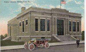 MIDDLESBORO , Kentucky , 1900-10s ; Public Library