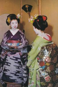 Maiko Girls of Kyoto, Kyoto, Japan, 50´s-70´s