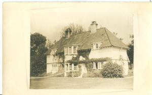 UK, Country house & tennis court, early 1900s unused RP