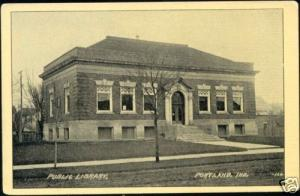 Portland, Ind., Public Library (ca. 1930)