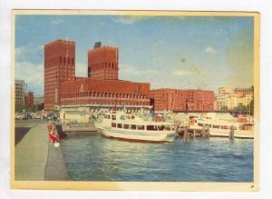 Norge,  Oslo from Harbour, PU-1959