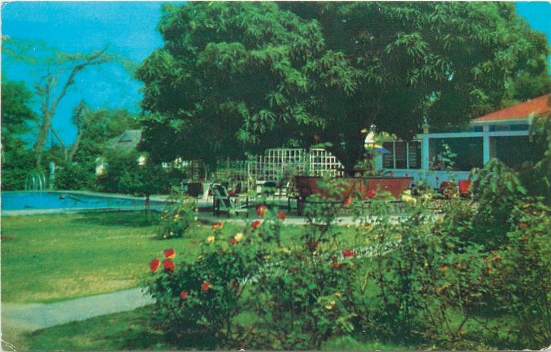 Jamaica view of grounds and pool Hotel Flamingo Kingston
