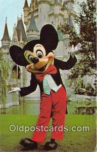 Magic Kingdom, Mickey Mouse Walt Disney World, FL, USA Postcard Post Card Wal...