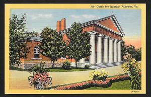 Custis Lee Mansion Arlington VA unused c1935