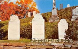 Plymouth, VT, USA President's Grave