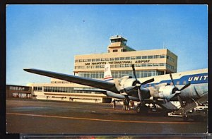Aviation Airplane San Francisco International Airport Douglas DC 6 in Foreground