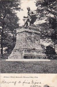 Pennsylvania Philadelphia Authony J Drexel Monument Fairmont Park  1906