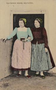 Hungary Egerfarmos Kozseg nepviselete Women In Traditional Costume