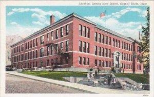 Iowa Council Bluffs Abraham Lincoln High School