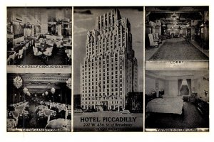 New York  City ,  Hotel Piccadilly , multi-view