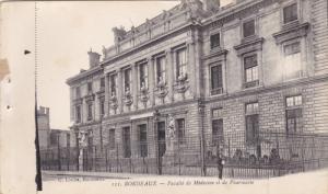 BORDEAUX, Gironde, France; Faculte de Medecine et de Pharmacie, 00-10s