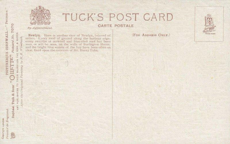 TUCK 7070; CORNWALL, England, 1900-10s; Penzance Newlyn