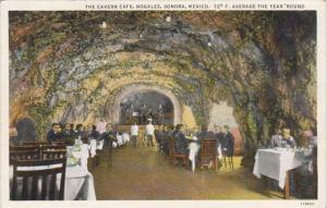 Mexico Sonora Nogales The Cavern Cafe Curteich