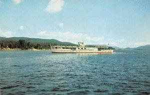 Ticonderoga Ferry Boats Ship Unused