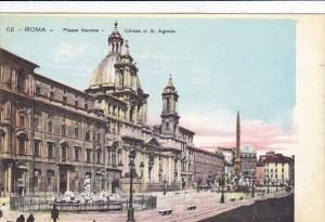 Italy Roma Rome Piazza Navona Chiesa di San Agnese