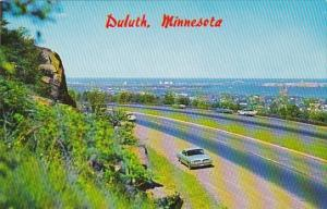 Minnesota Duluth Hiway 61 West Overlooking Western Section Of Duluth
