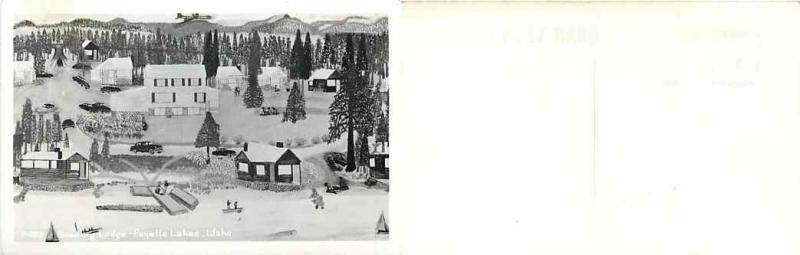 Bowling Lodge, Payette Lakes, Idaho, ID, RPPC