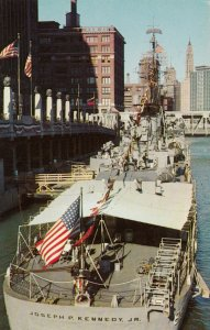 CHICAGO , Illinois, 50-60s ; U.S.S. JOSEPH P. KENNEDY JR.
