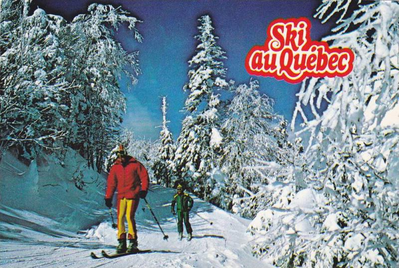 The Province Of Quebec Offers Visitors The Choice Of Alpine Or Cross-Country ...