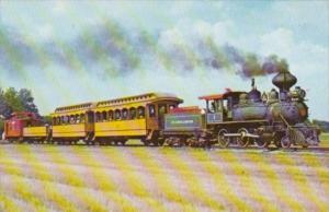 Scott & Bearskin Lake Railway Locomotive No 1