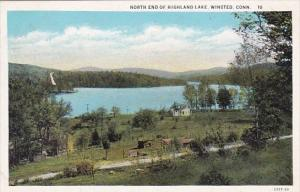 Connecticut Winsted North End Of Highland Lake